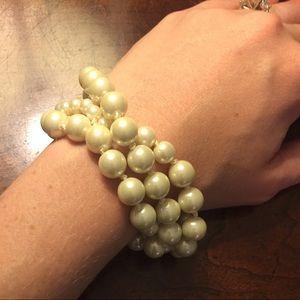 J. Crew Pearl Bracelet